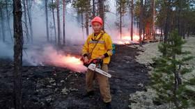 Арктика горит: когда температура достигает 100F, горит более миллиона гектаров сибирских лесов