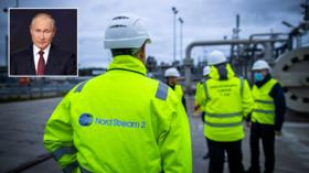Первый участок газопровода «Северный поток-2» завершен в пятницу утром, как сообщил Путин, несмотря на яростные возражения США против схемы